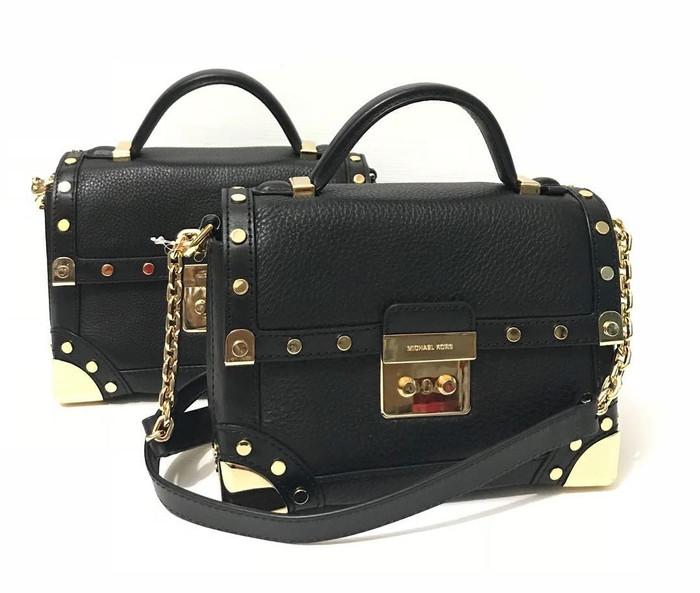 f8d31e4c970f Jual Tas Michael Kors Original   MK Cori Trunk Bag Black - DKI ...