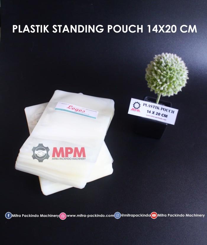 harga Plastik standing pouch nylon 500ml uk. 14x20cm ready stock! Tokopedia.com