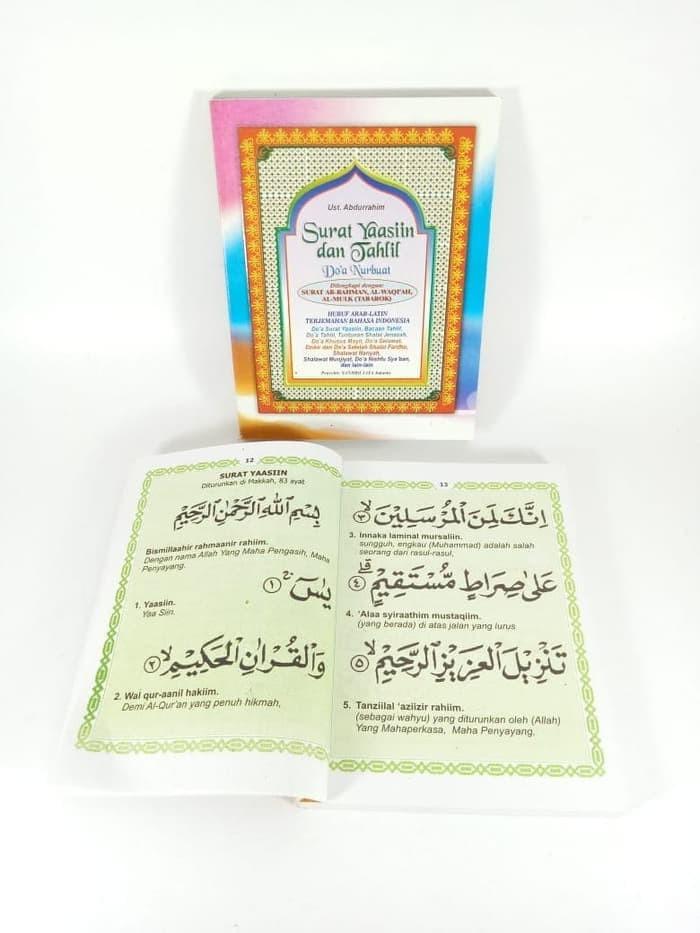Jual Surat Yasin Terjemahan Tahlil Arahman Waqiah Tabarok 192 Hal Dki Jakarta Grosir Hijab Jakarta Tokopedia