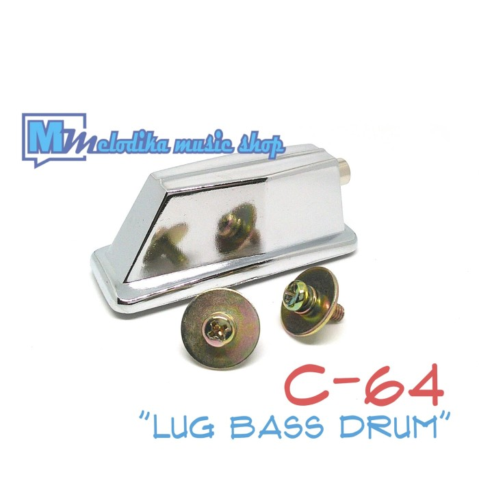harga Lug bass drum standart (dua lubang skrup) Tokopedia.com