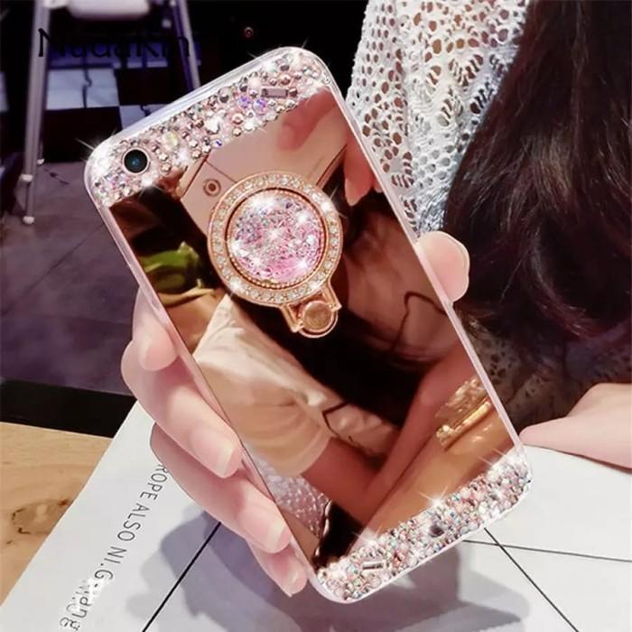 harga Case oppo r7s r7sf luxury diamond crysta blingl soft + ring bear Tokopedia.com