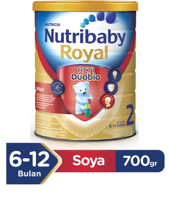 harga Nutribaby royal soya 2 700 gram Tokopedia.com