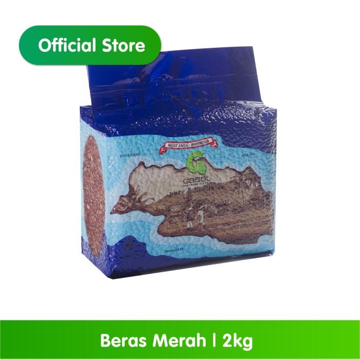 Foto Produk GASOL Organik Beras Merah 2Kg / 2 Kg / Makanan Bayi dari Gasol Organik Indonesia