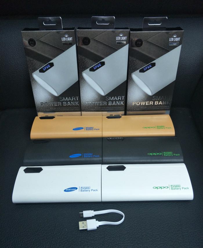 harga Powerbank powercore power bank samsung & oppo led 138.000 mah + 2 usb Tokopedia.com
