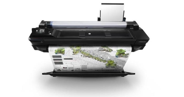 harga Printer plotter hp designjet t520 (cq893a) eprinter wifi 36inch Tokopedia.com