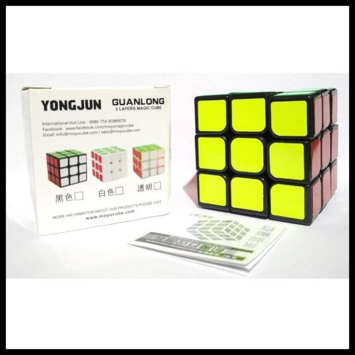 Yj Guanlong Stickerless Candy Color Speed Cube Source Termurah . Source · Rubik .
