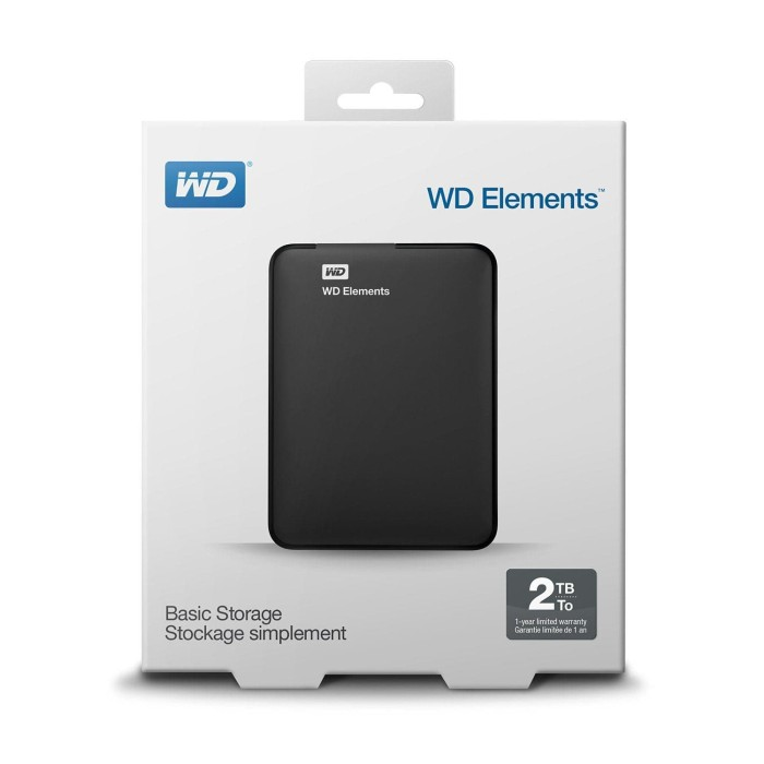 harga Harddisk ext. 2 tb element wd (usb 3.0) Tokopedia.com