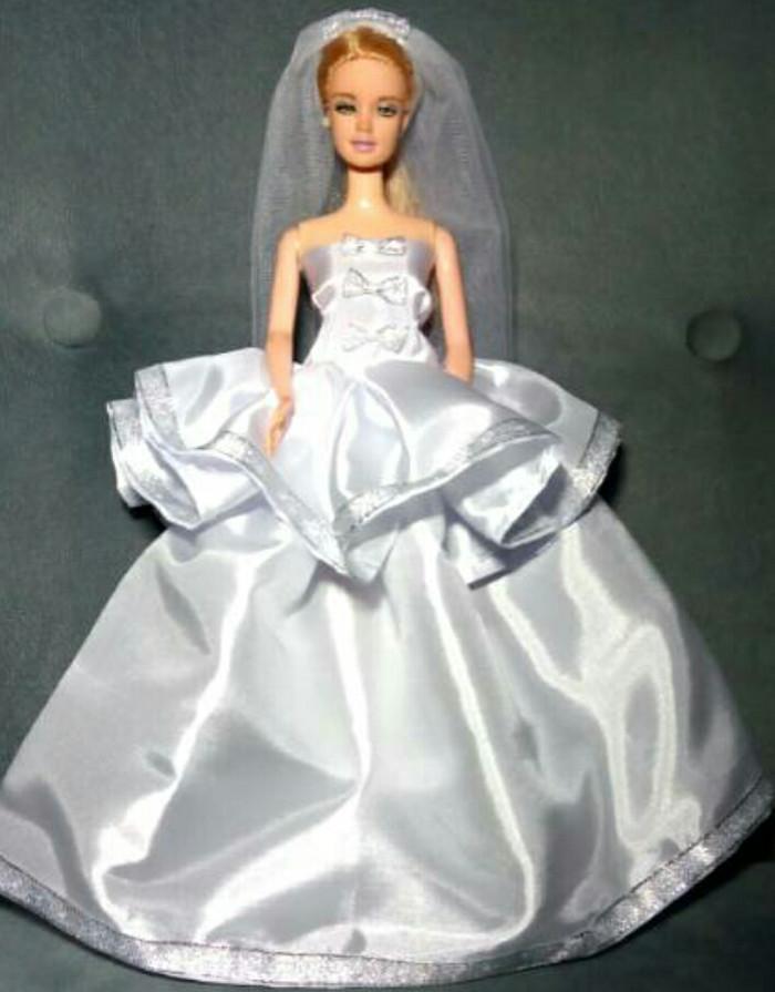 72 Gaya Baju Barbie Pengantin Kekinian