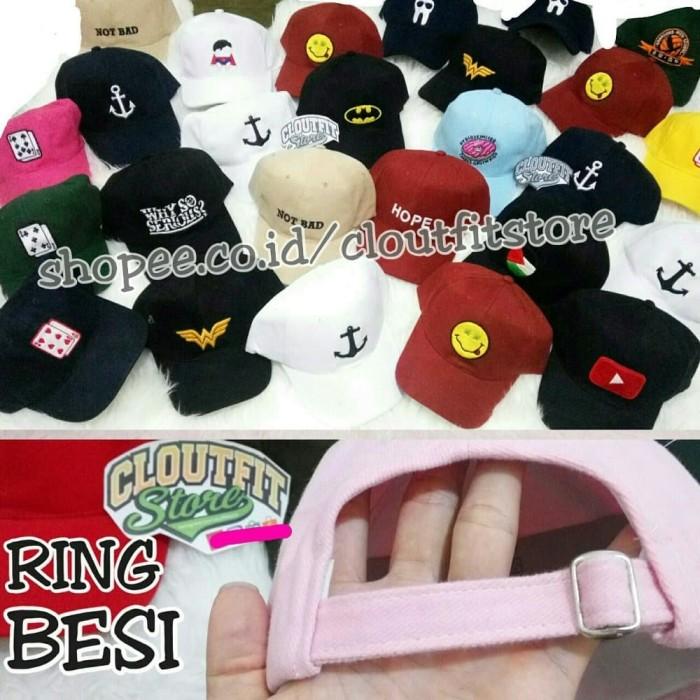 Jual Topi Baseball Bordir Custom Ring Besi Tumblr Cap Nama Tulisan ... 7acccc952d