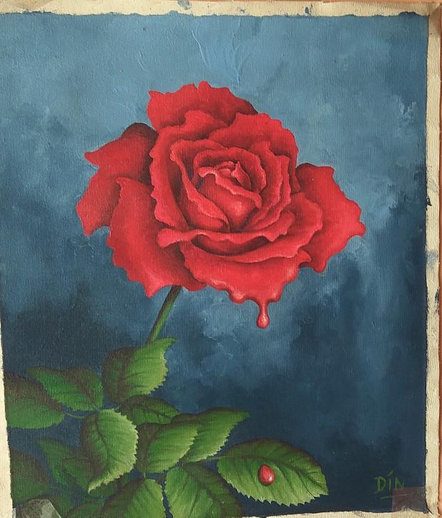 Download 47 Gambar Lukisan Bunga Dari Crayon HD Gratid