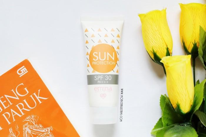 Emina sun protection spf 30 60ml - sunscreen / sunblock