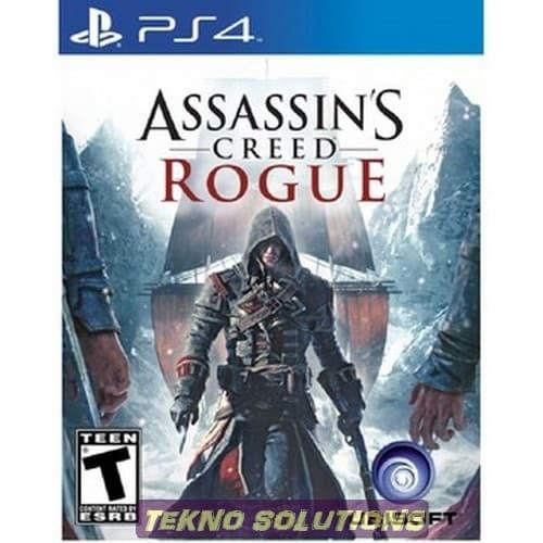 Jual Tekno Terhits Ps4 Assassin S Creed Rogue Remastered Kaset