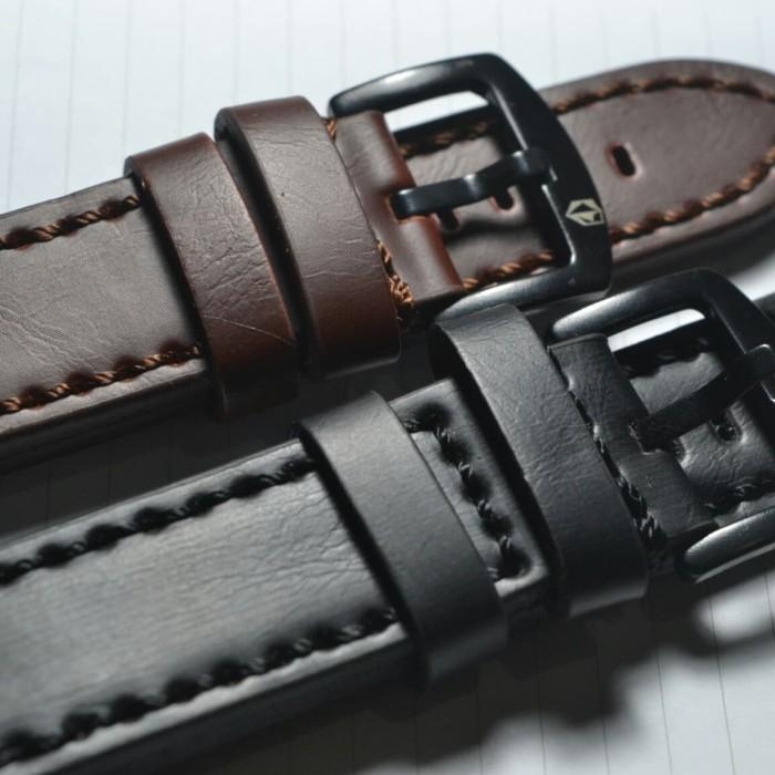 Foto Produk Strap tali jam tangan kulit expedition alexandre swiss army berkualita - Cokelat dari Bergaya online