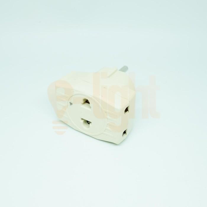 Foto Produk Te Multi / T-Multi / Colokan 3 Cabang SNI Murah Mirip Uticon dari e-light