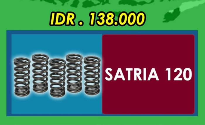 harga Per kopling brt suzuki satria 120 2tak (clutch spring) Tokopedia.com