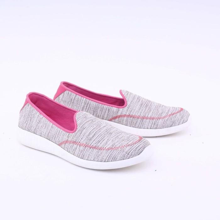 harga Garsel sepatu casual wanita abu glt 5435 murah asli ori original Tokopedia.com