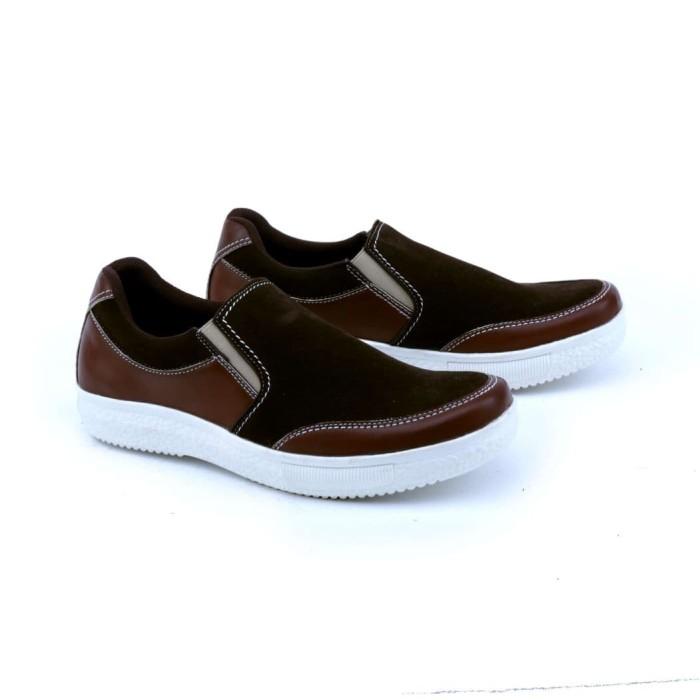 harga Garsel sepatu casual pria dewasa coklat gud 1613 murah ori original Tokopedia.com