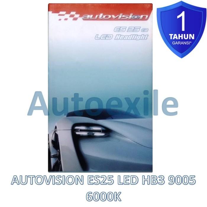 harga Autovision es25 cb led hb3 9005 25w 6000k putih epistar lampu mobil Tokopedia.com