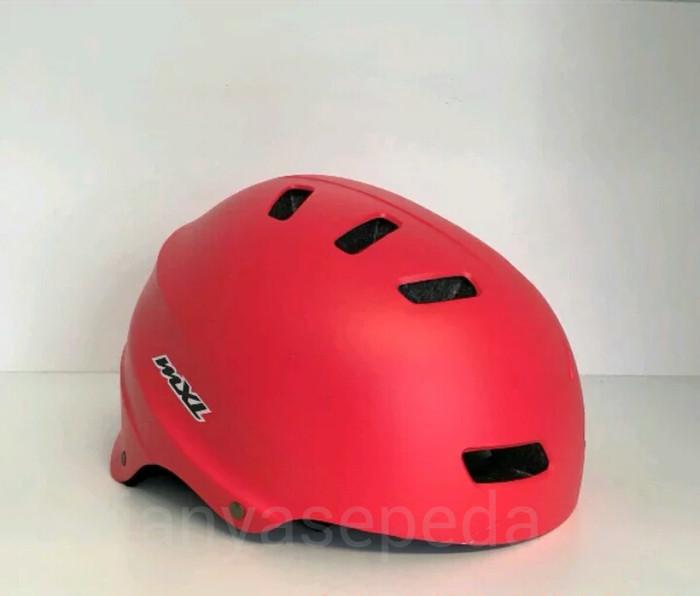 harga Helm sepeda mxl batok dj rafting bmx - warna red matt Tokopedia.com