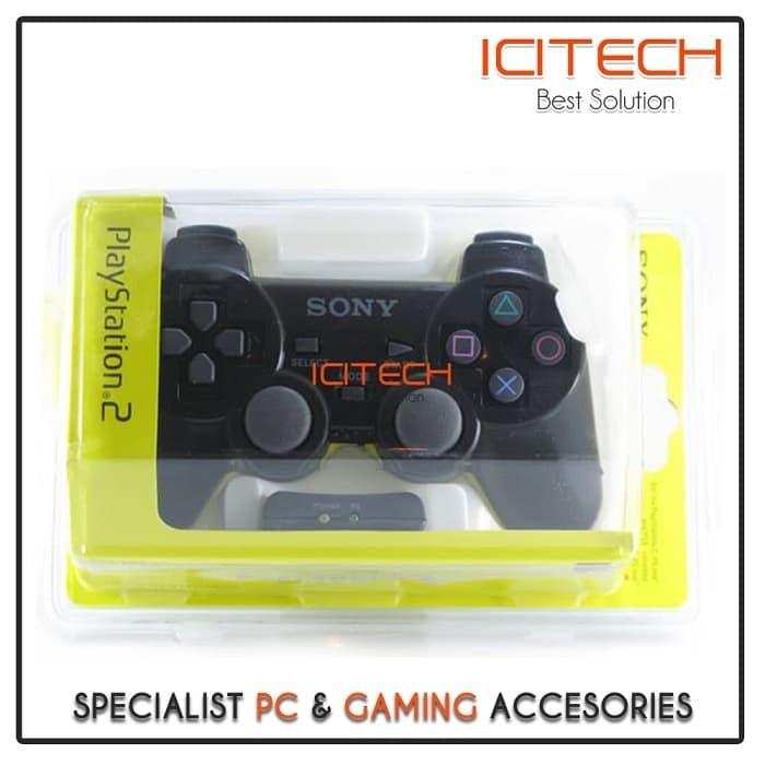 harga Stick stik controller ps2 joystick getar gamepad wireless ori pabrik Tokopedia.com