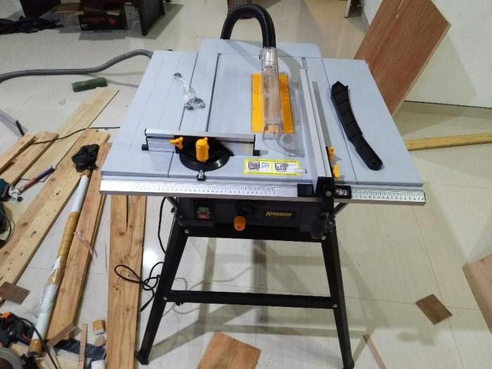 harga Mesin table circular saw 10  krisbow / meja gergaji potong kayu Tokopedia.com
