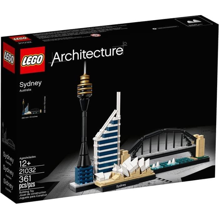 Architecture Sydney 21032 Skyline 361 Pcs Building Blocks Kit Set brand new
