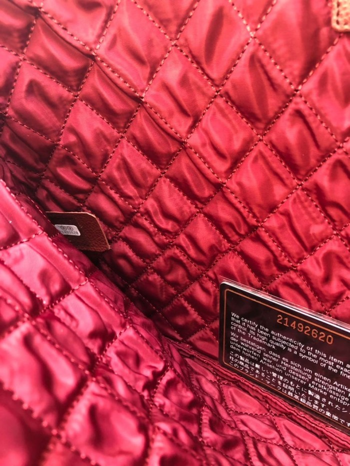 84431bd92d3c Jual Pouch Chanel Classic O Case Quilted Large GHW HITAM Mirror 2018 ...