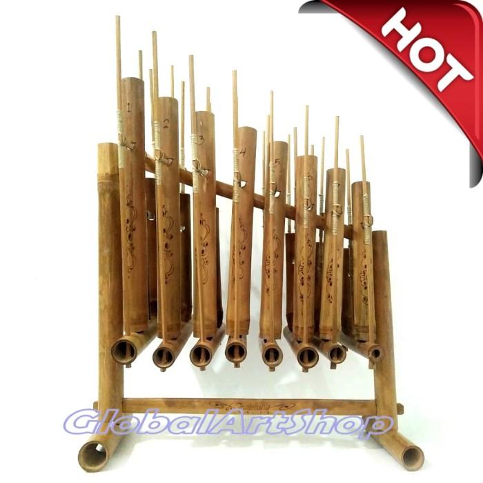harga Angklung 1 oktaf ukuran anak-anak sd - alat musik tradisional Tokopedia.com