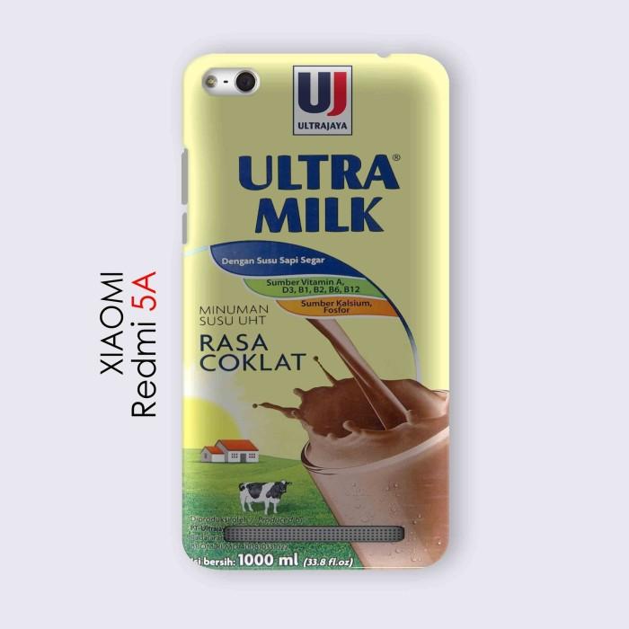 harga Xiaomi redmi 5a casing custom hard case 3d susu ultra milk coklat Tokopedia.com
