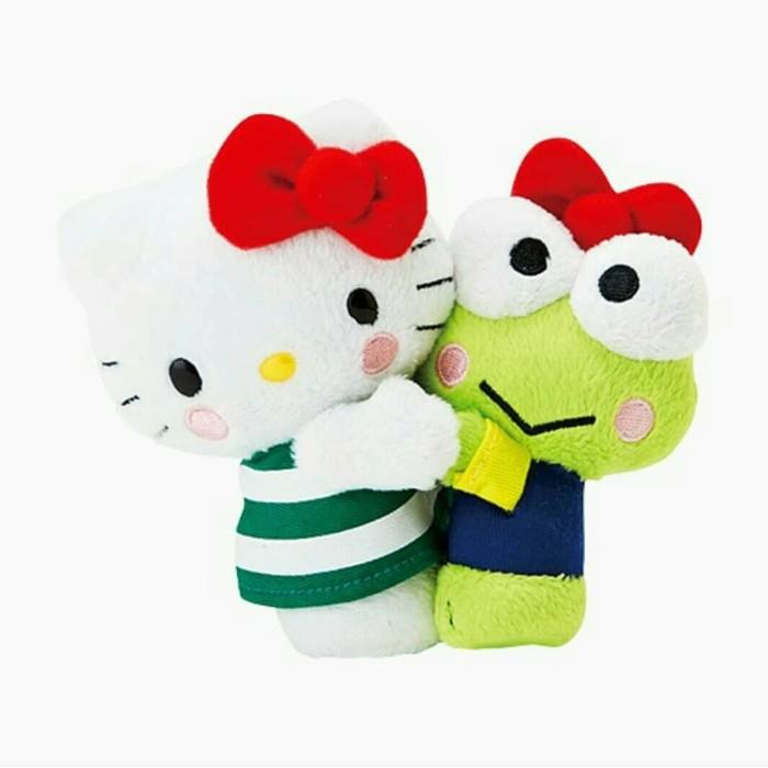 harga Hello kitty 40th hug kero keropi plush doll 12x14.5x9 cm nsrt (ori) Tokopedia.com