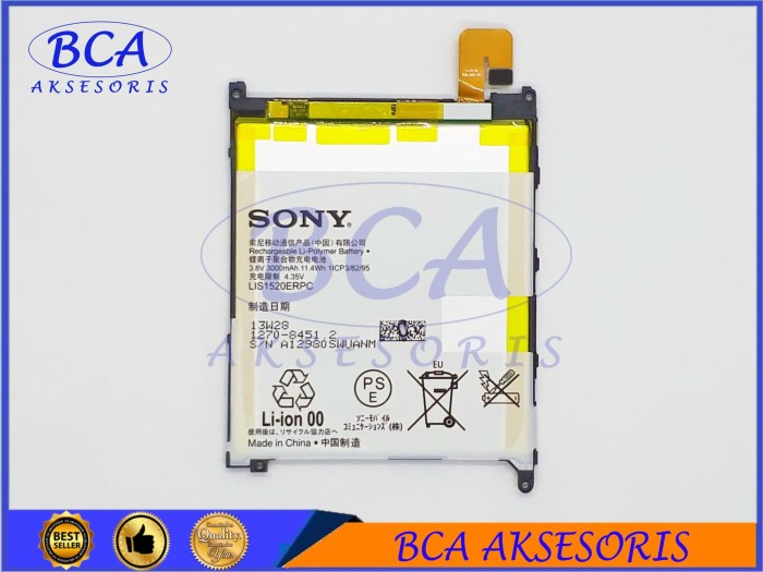 BATTERY BATERAI SONY EXPERIA XPERIA Z ULTRA / XL39 ORIGINAL 100%