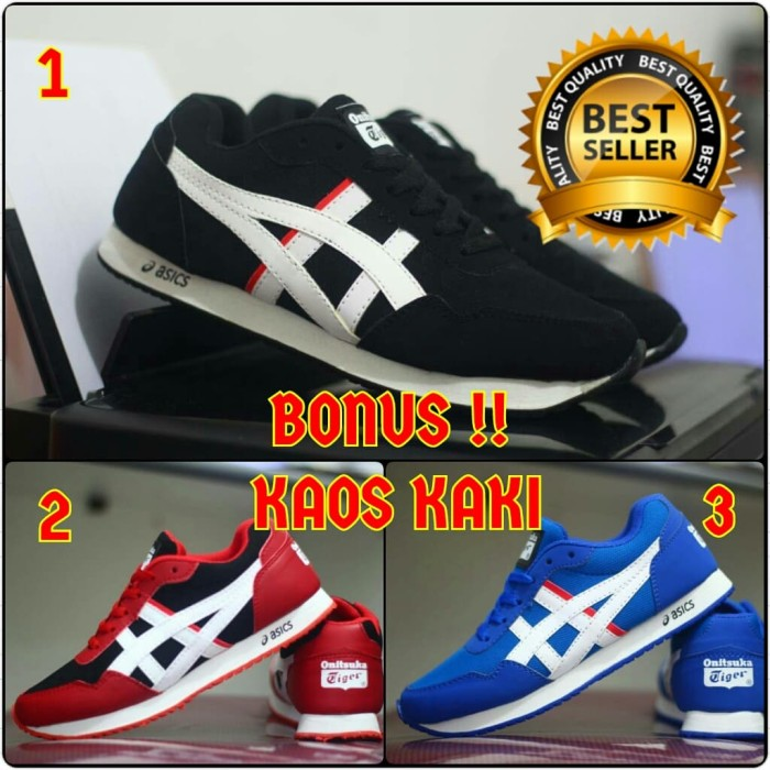 brand new ae507 e00dc Jual SEPATU PRIA ASICS TIGER CASUAL TERBARU - Kota Bandung - Otak Footwear  | Tokopedia
