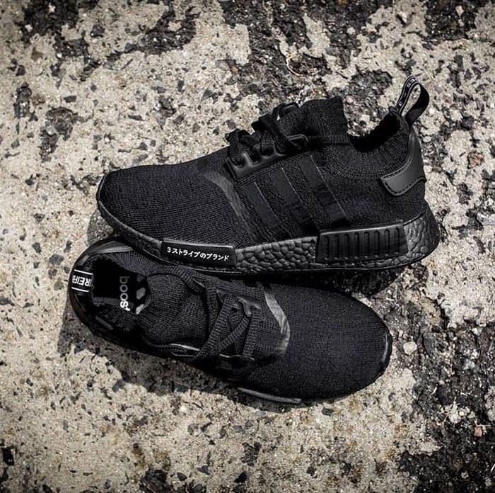 b203a20dc Jual PROMO Adidas Nmd R1 Japan Triple Black Premium Original sepatu ...
