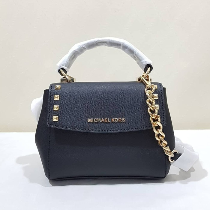 ea2c8a2b1ce622 Jual TAS MICHAEL KORS ORIGINAL - MK KARLA MINI CROSSBODY BLACK ...