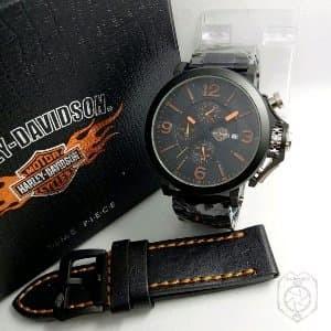 Jual Jam Tangan Pria Murah Harley Davidson Paket Murah - five 07 ... 40aa7b3665