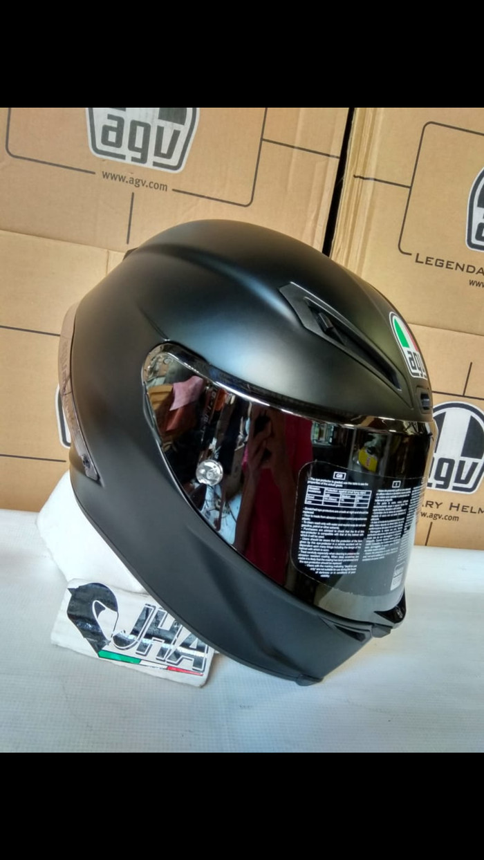 harga Helm Agv Corsa R Matte Black Solid - Euro Fit *new - Made In Italy Blanja.com