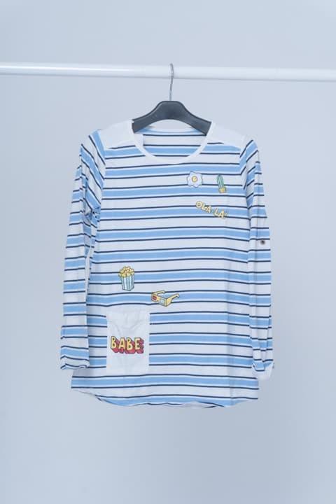 harga Seyes 4600 tshirt kaos cewe spandek premium baju lengan panjang wanita - biru muda Tokopedia.com