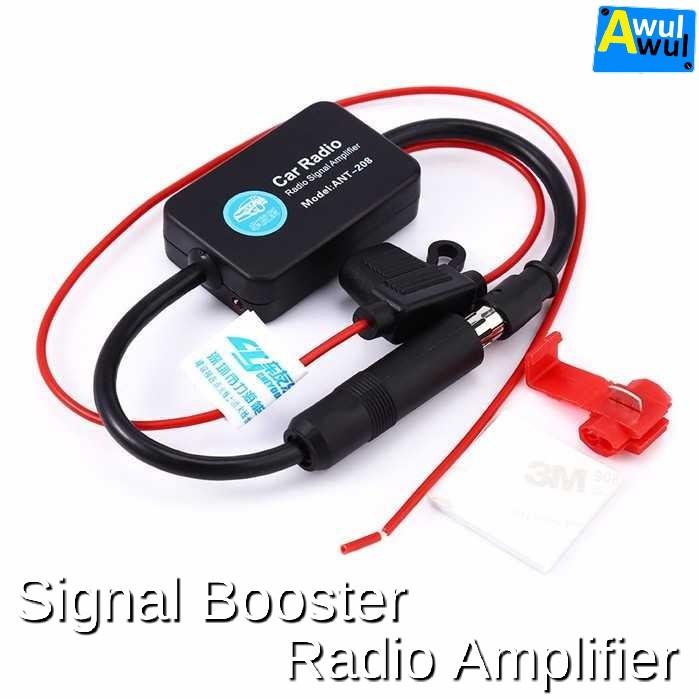 Foto Produk Signal Booster Radio FM Penguat Sinyal Antena Mobil dari Awulawul