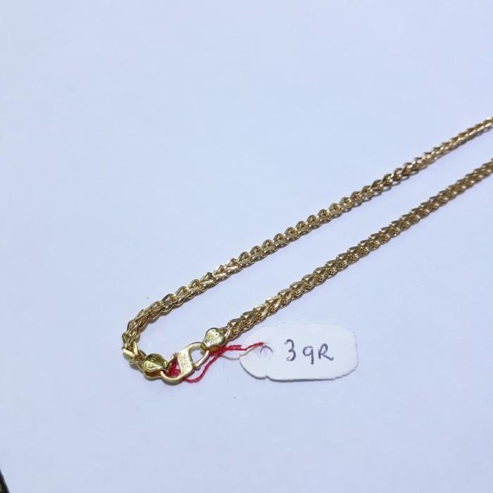 Kalung Anak Emas Kuning 70 Berat 3 Gram Panjang 33cm Model Spiga