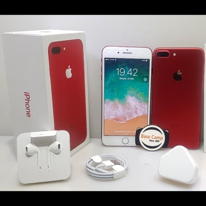 Jual Iphone 7 Plus 256gb Red Second Fullset Sbasecamp Tokopedia