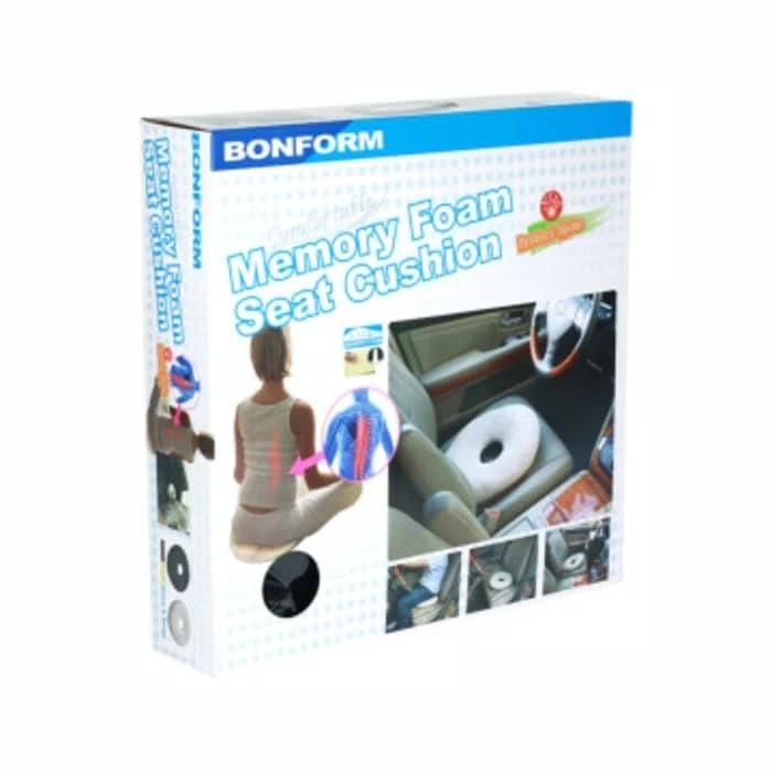 harga Bonform bantal duduk kesehatan memory foam Tokopedia.com