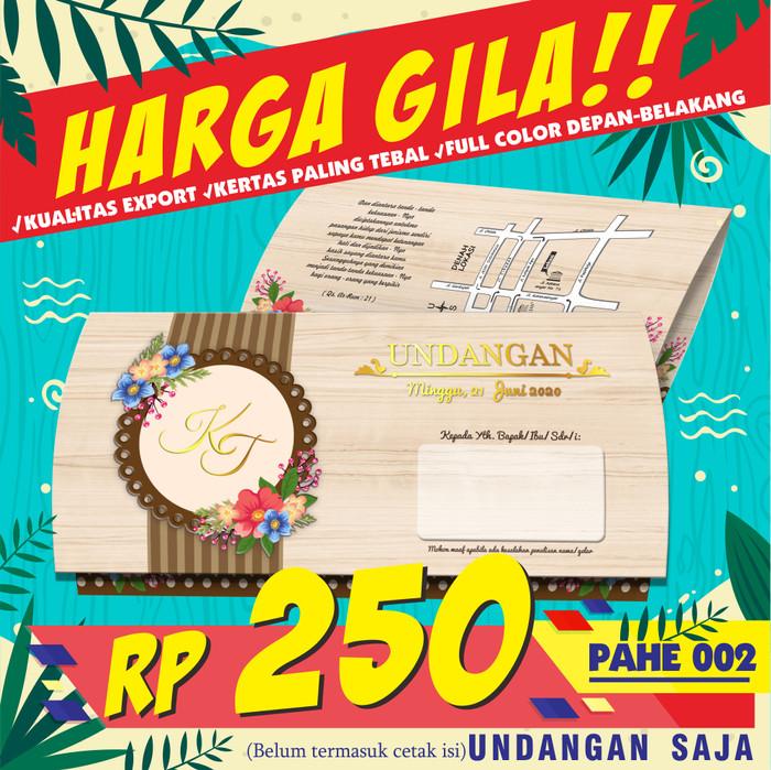 Katalog Kartu Undangan Pernikahan Murah Hargano.com ...