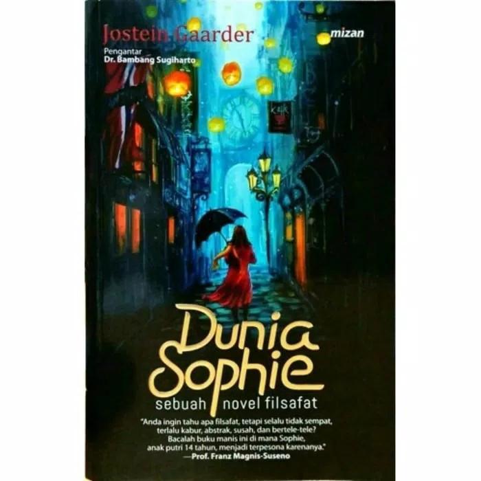 harga Novel dunia sophie - jostein gaarder Tokopedia.com