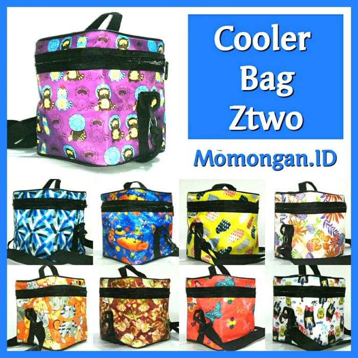 Cooler bag asi ztwo + 1 pcs big ice gel penyimpan asi