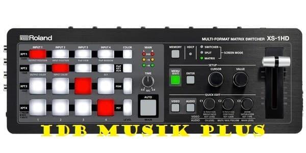 harga Original video mixer roland xs1hd / xs-1hd / xs 1hd garansi resmi Tokopedia.com