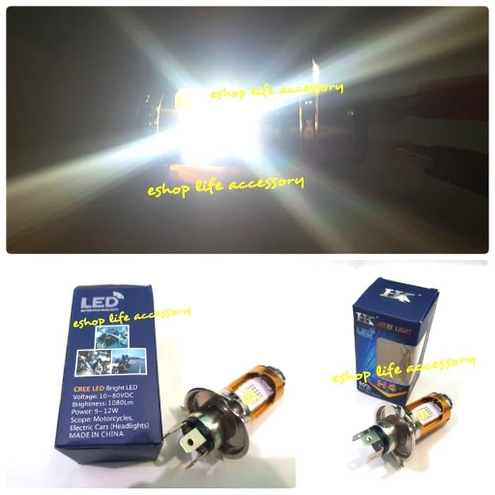 harga Led cree h4 lampu depan utama motor vixion cb verza megapro byson Tokopedia.com