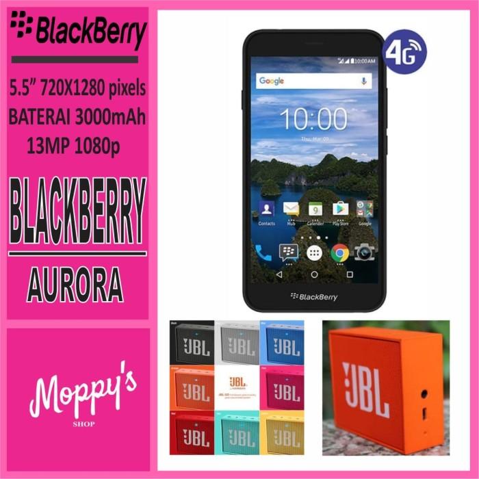 harga Blackberry aurora ram 4/32 garansi resmi free jbl go speaker wireless Tokopedia.com