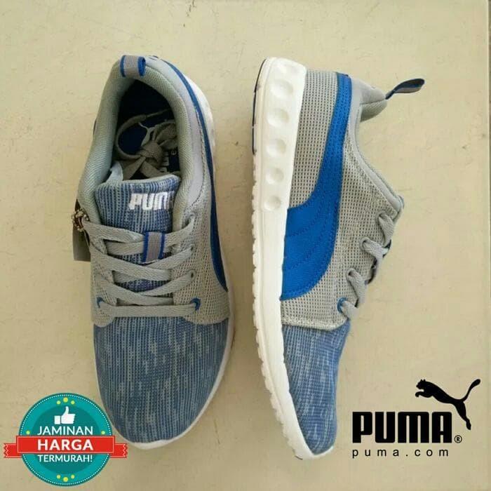 Puma Sepatu Sneaker Running Carson Runner Camo Mesh 18917314 Hitam ... 5e740e1b2a