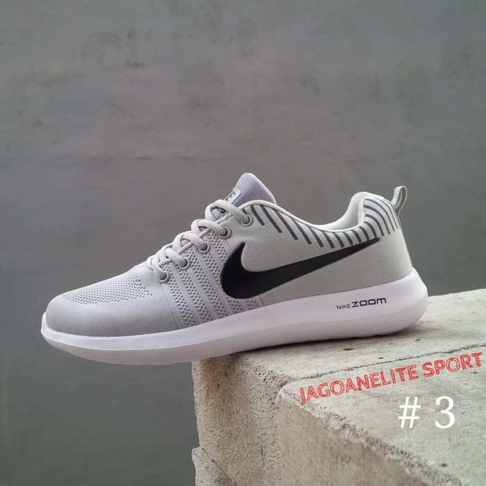 Best Sepatu Gowes Nike Zoom Airmax Pria Flyknit Lunarlon. - Merah 2c1427d9a4