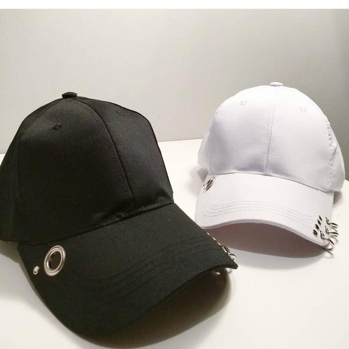 Jual Topi baseball RING fashion import korea kpop wanita pria ... 396543182e